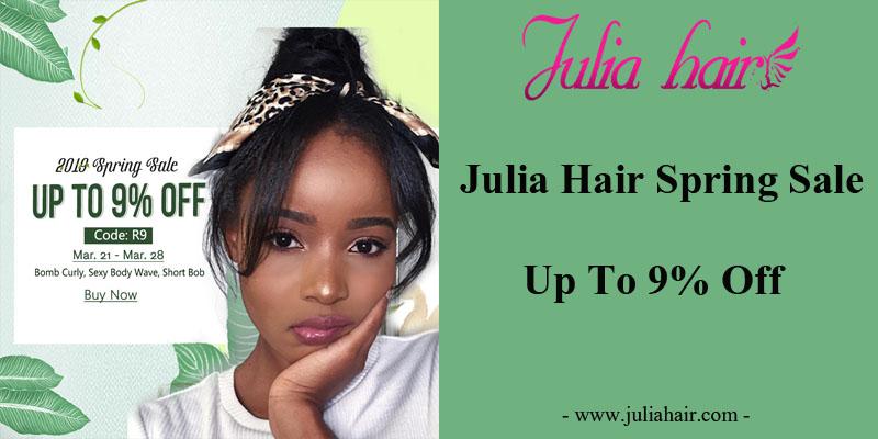 Julia Best Virgin Human Hair Spring Sale: Up To 9% Off