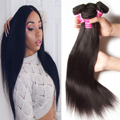 virgin straight hair