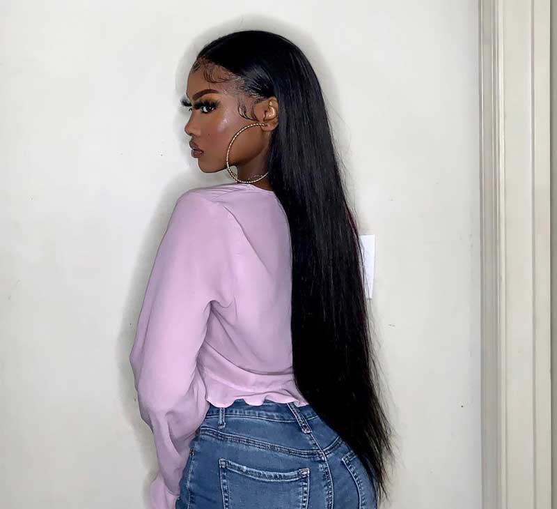 straight wave lace closure