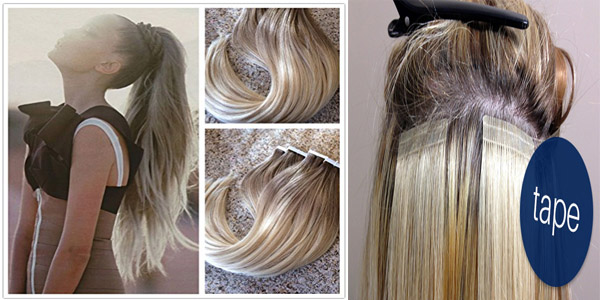 How to wash tape in hair extensions blog julia hair tape in hair extensions pmusecretfo Images
