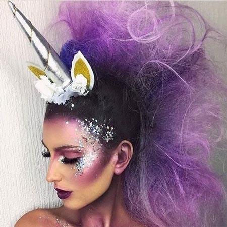 unicorn ponytail