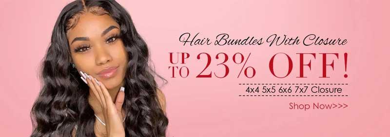 hair deals 23% off