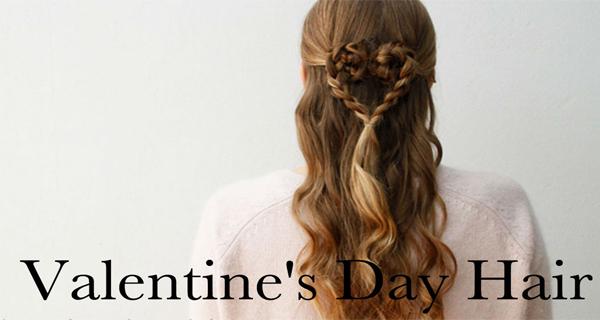 valentine's day hair