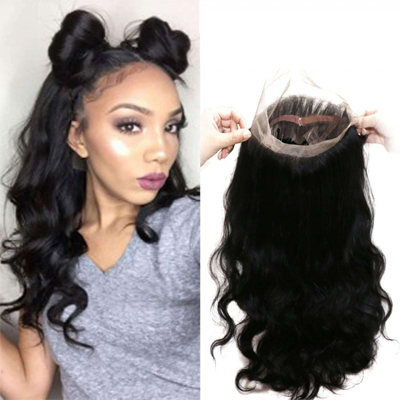 body wave hair lace frontal