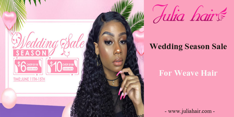 Wedding Season Sale For Virgin Weave Hair
