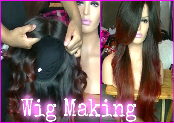 lace-frontal-wig-making