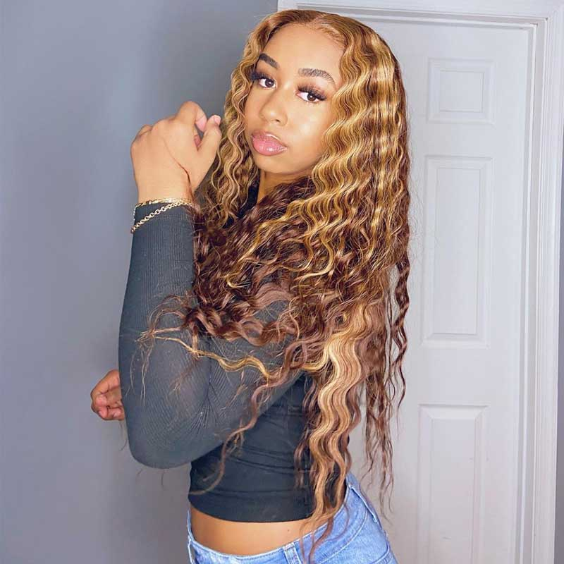 highlight lace wig 3