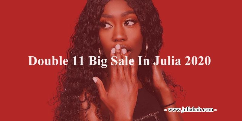 double 11 sale in julia