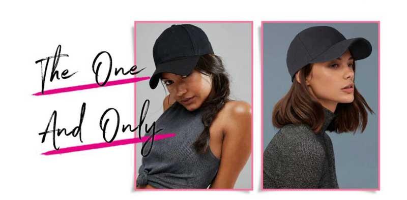 fashion star with baseball cap wig