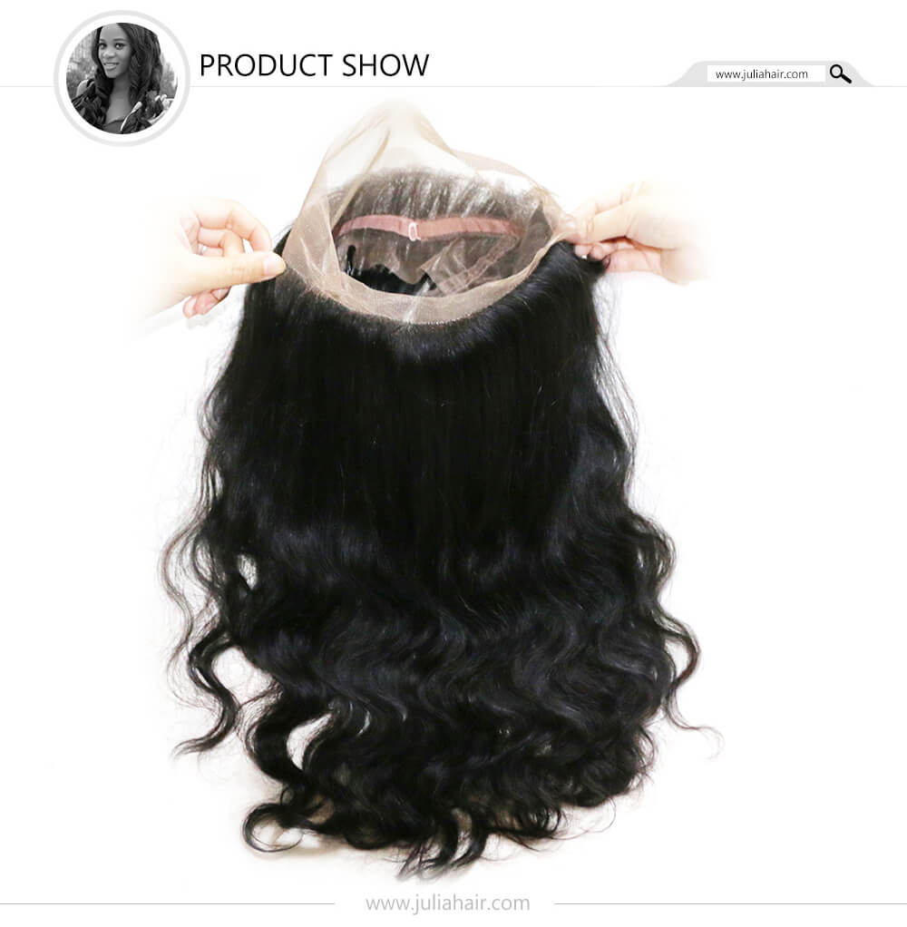 virgin body wave lace frontal hair