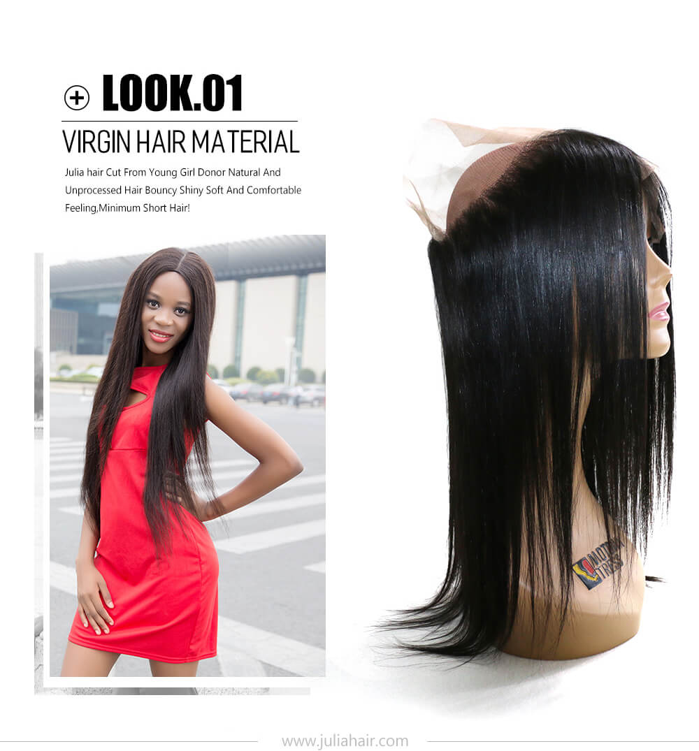 best quality 360 lace frontal closure