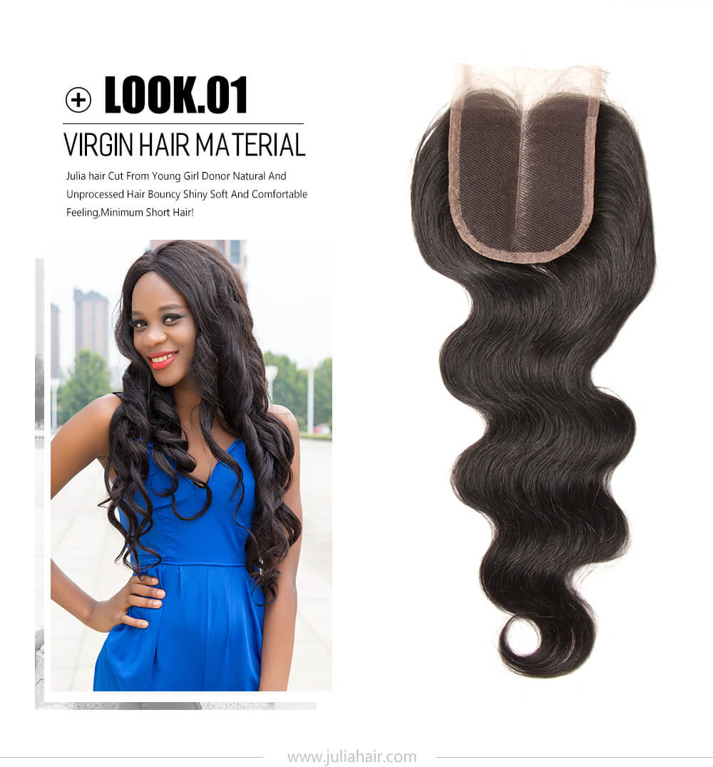 virgin Peruvian body wave hair bundles