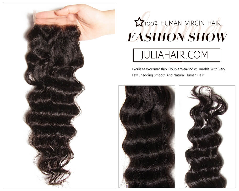 7a virgin human lace closure