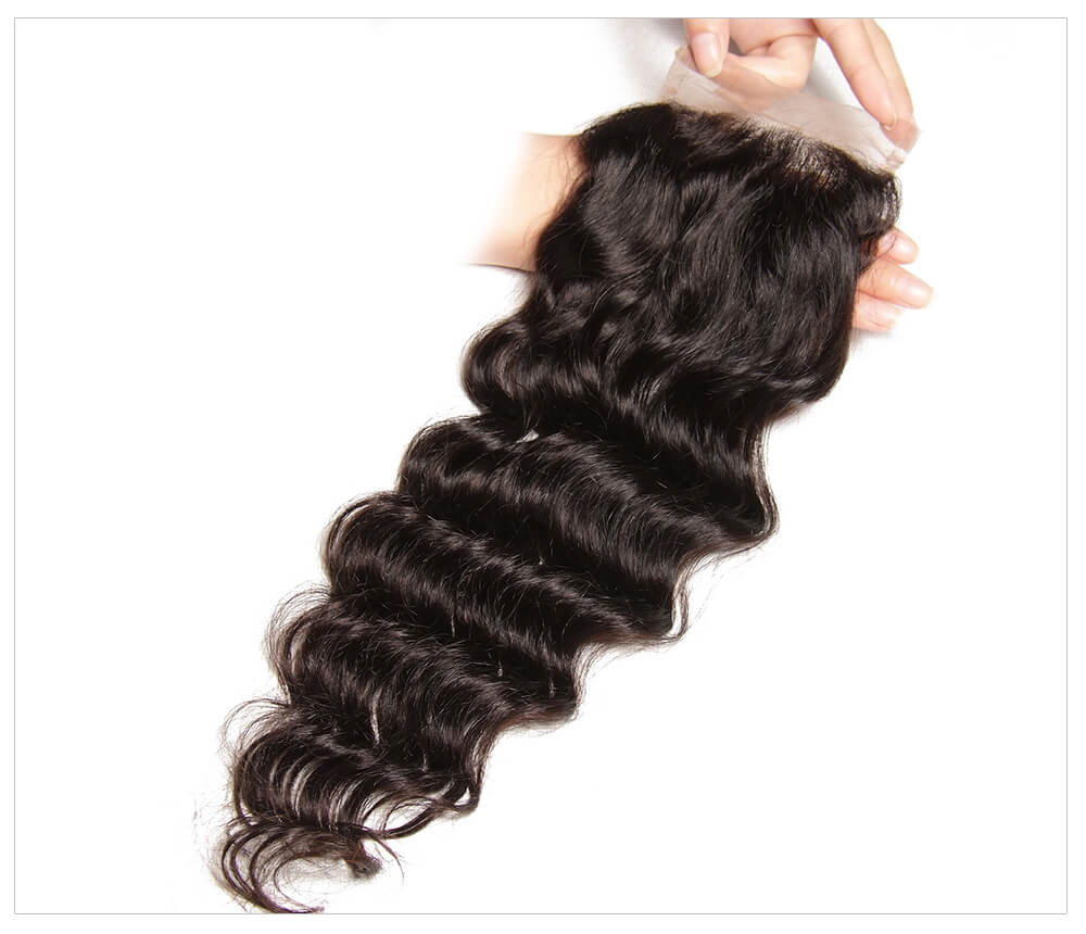 best natural wave lace closure for sale
