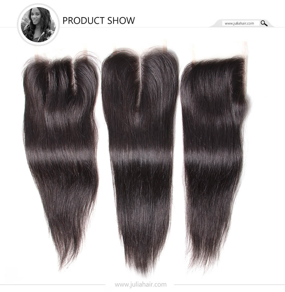 Julia Indian Straight Bundles With Closure