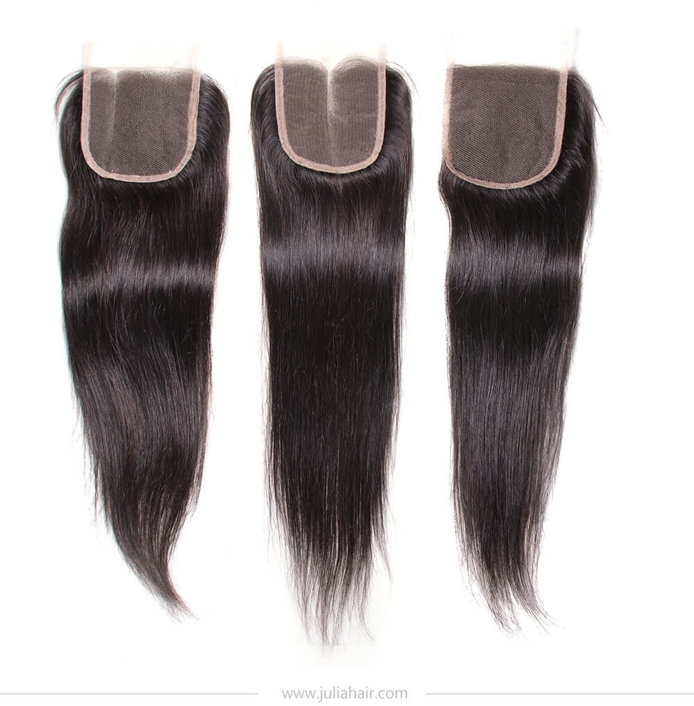 middle part lace closure