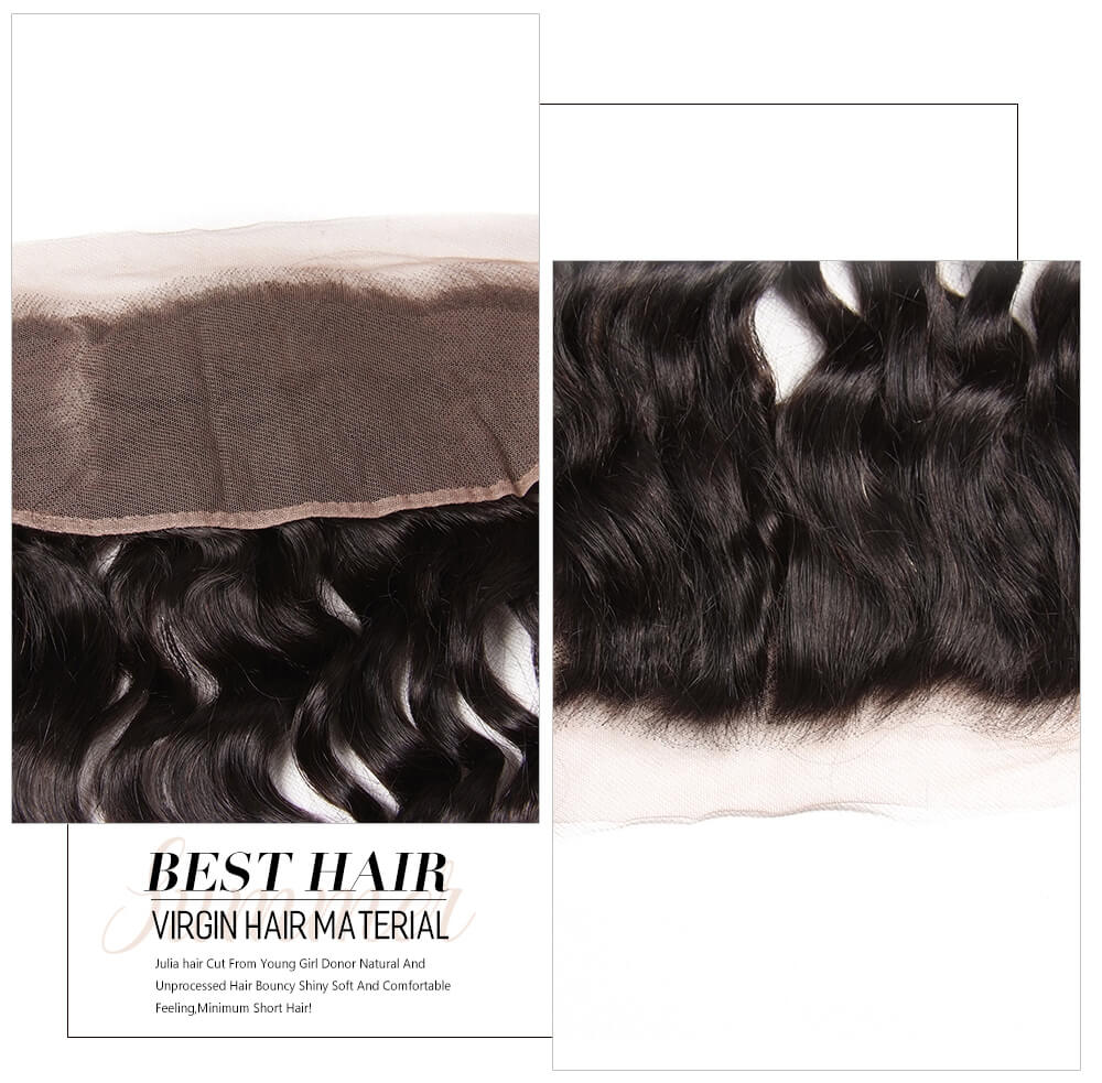 quality lace frontal natural wave