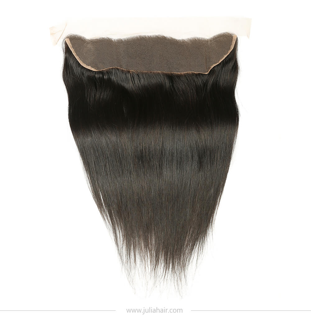 straight lace frontal free part