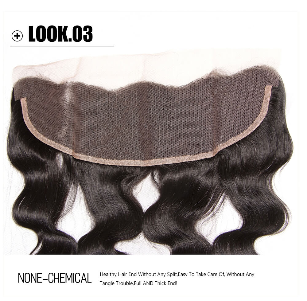 cheap body wave human hair bundles with lace frontal