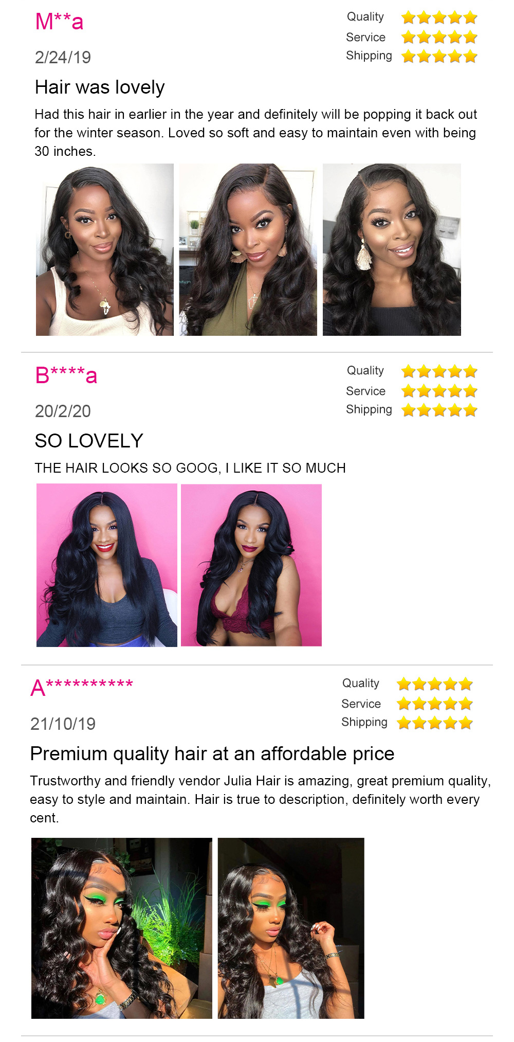 Loose Wave Hair Review
