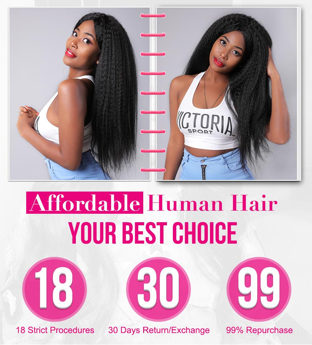 Kinky Straight Hair For Black Women