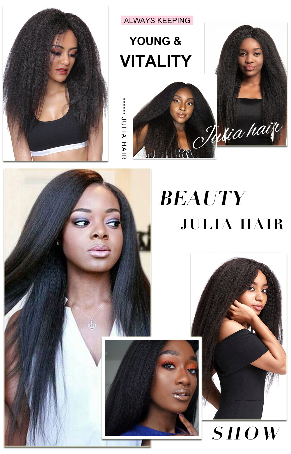 Yaki Straight Hair Bundles