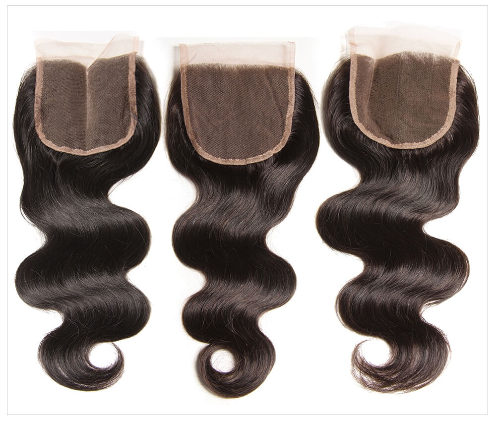 wholesale human hair weave bundles with closure