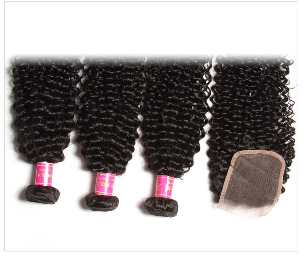 Best Human Hair Bundles With Lace Closure