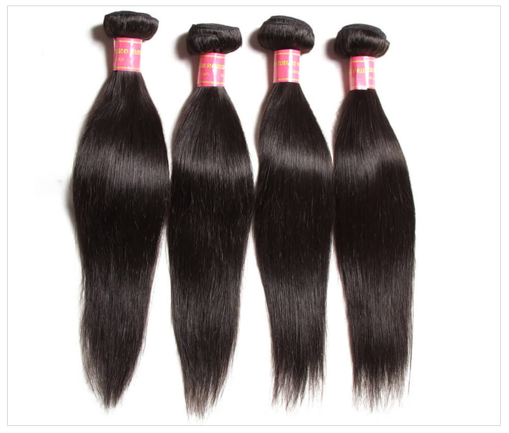 Natural Straight Human Hair Weave