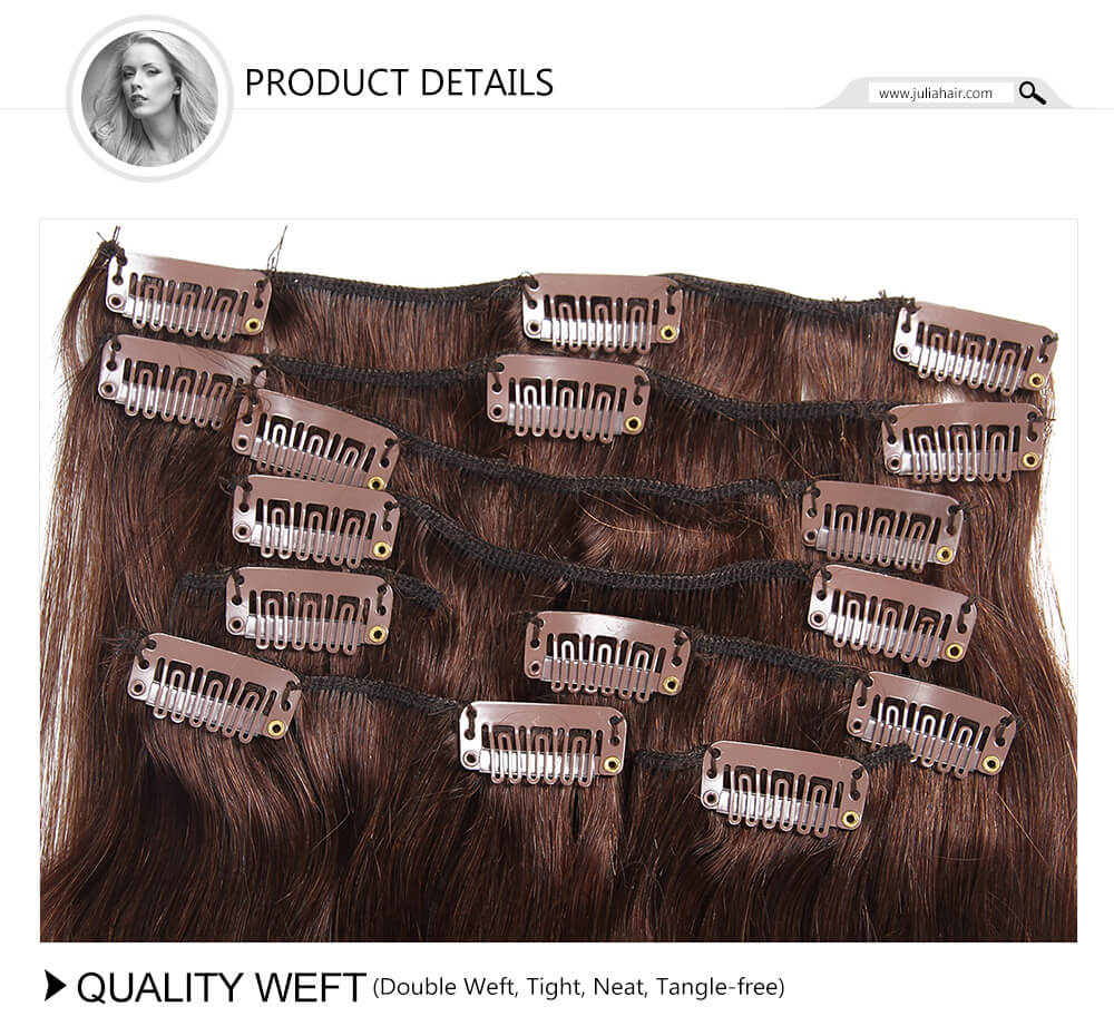 best clip in human hair extensions