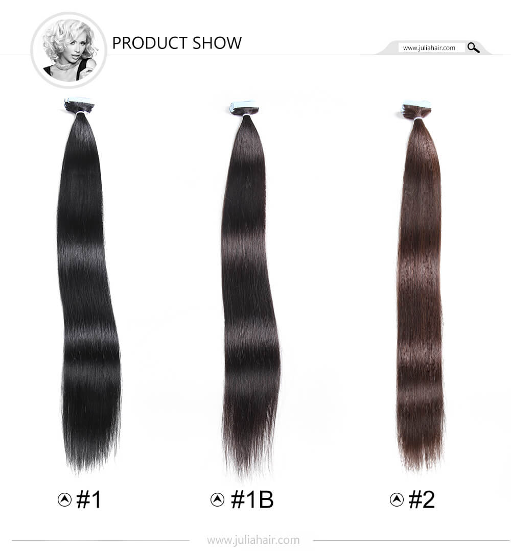 PU Tape Human Hair Extensions