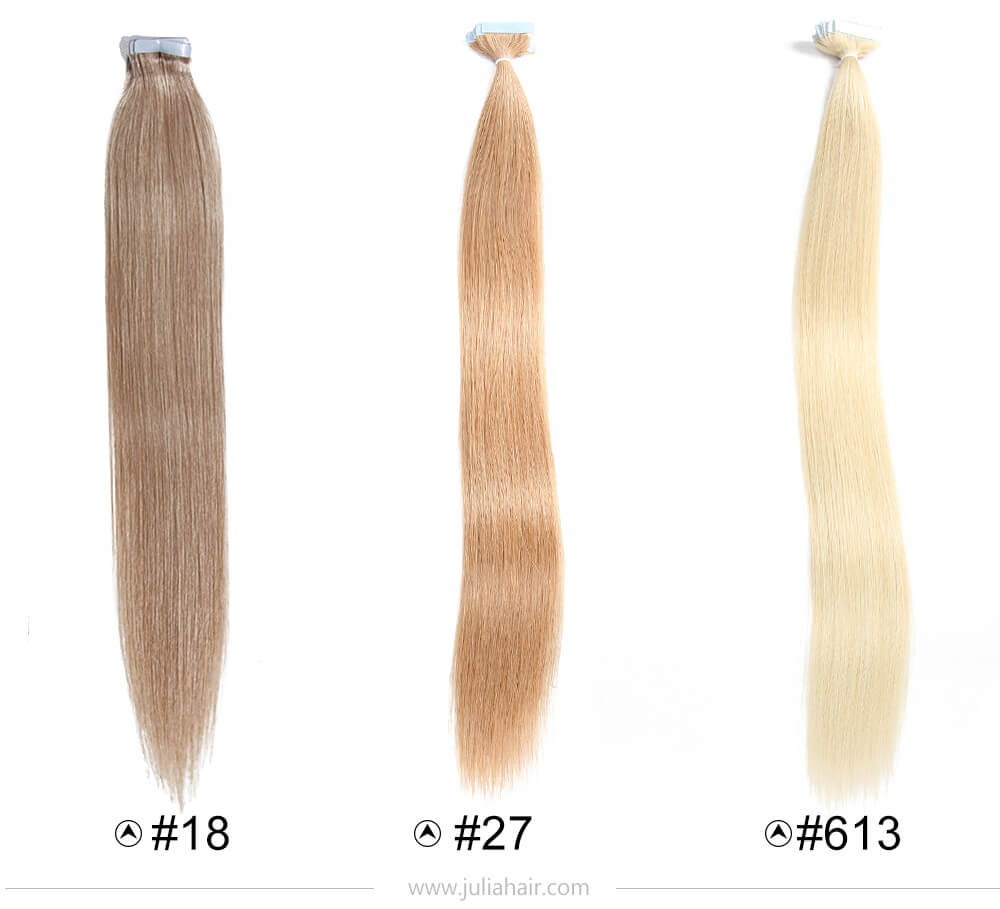 Brazilian PU Straight Remy Hair Extensions For Sale