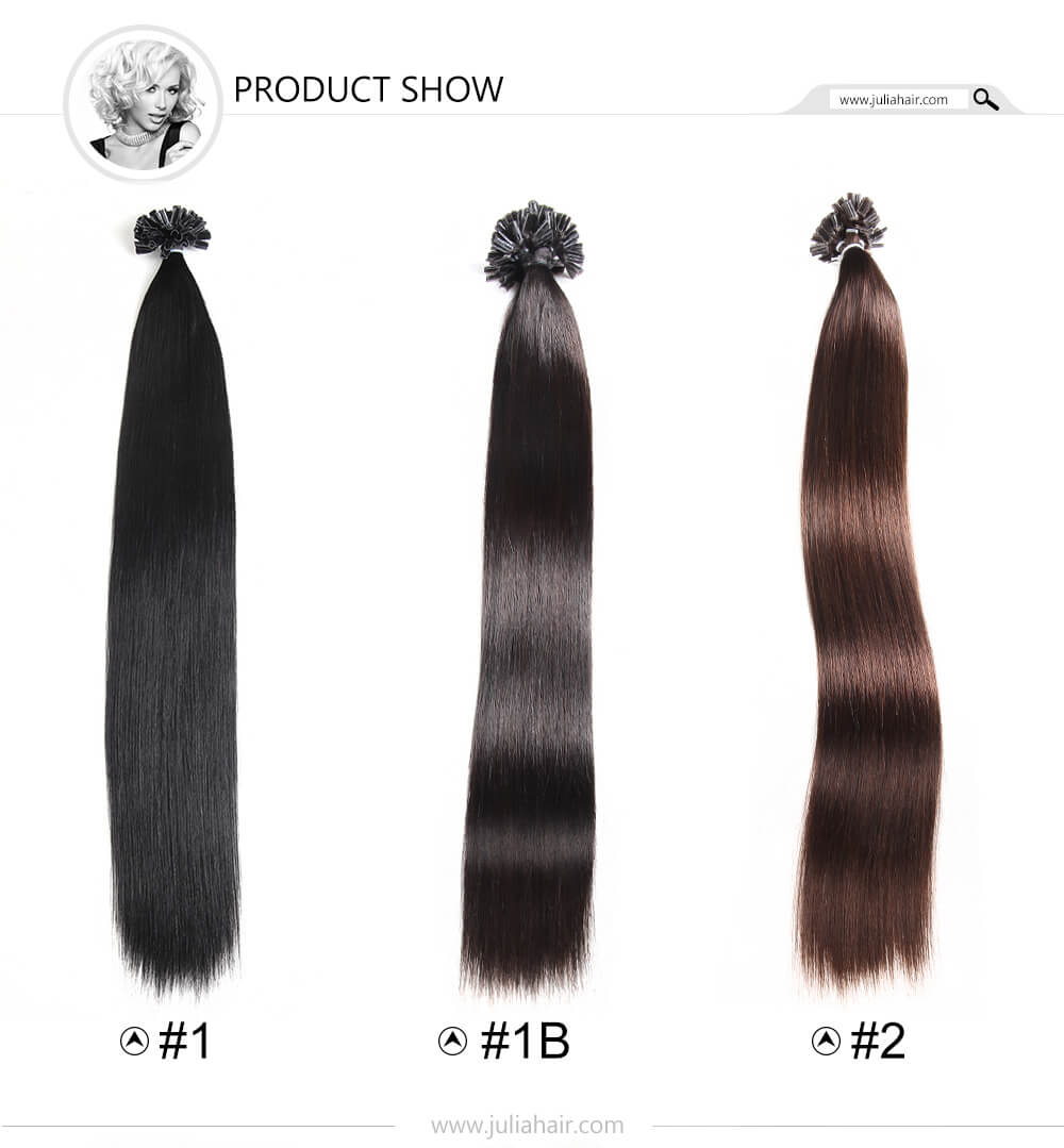 High Quality U Tip Human Hair Extensions