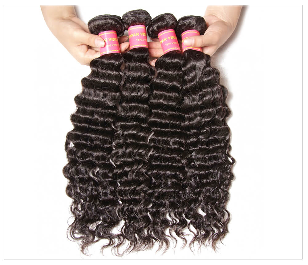 Wholesale Deep Wave Weaves With Frontal