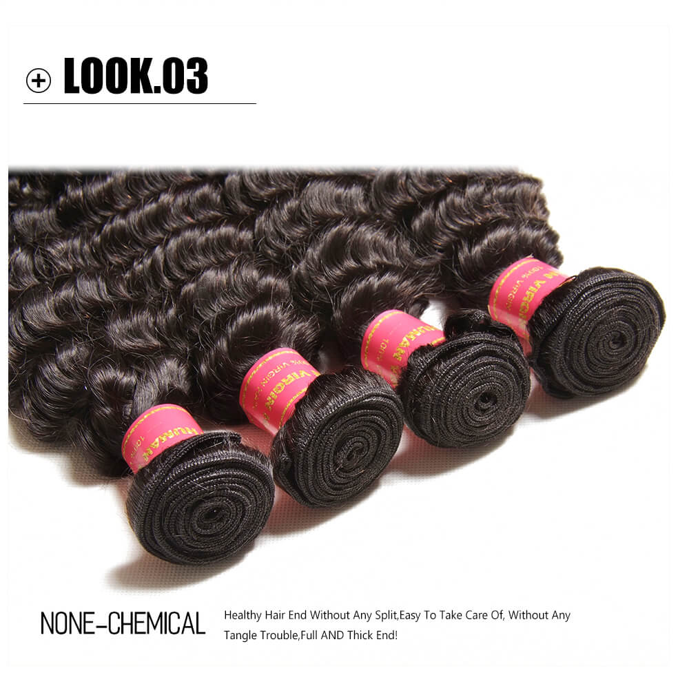 Cheap Deep Wave Hair Bundles For Sale