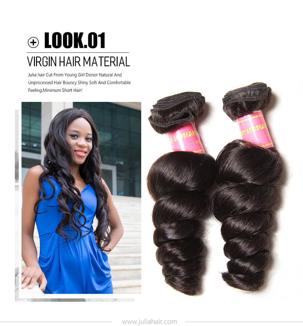 Julia Indian Remy  Loose Wave
