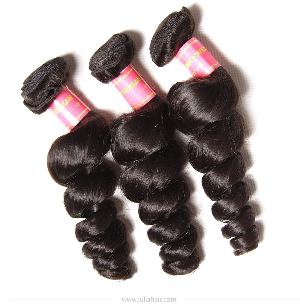 Virgin Loose Wave Brazilian Hair Bundles