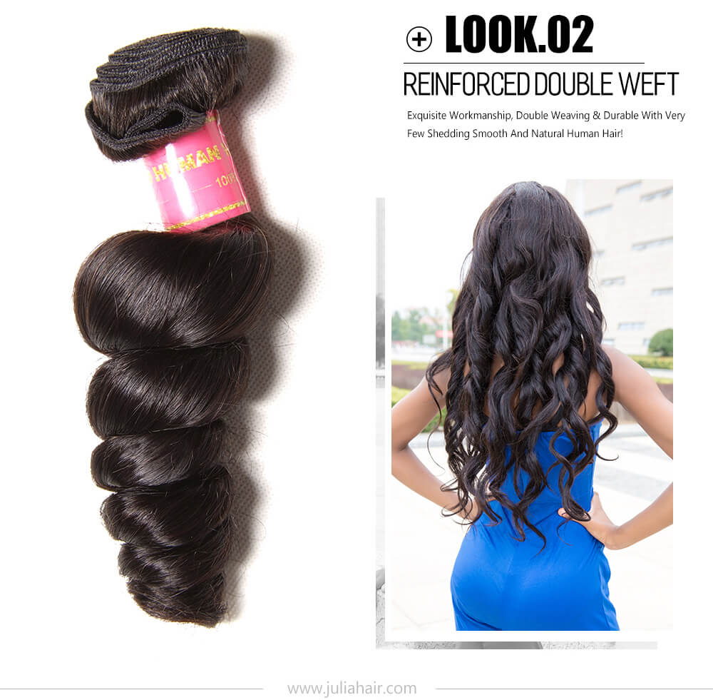 Best Brazilian Loose Wave Weave
