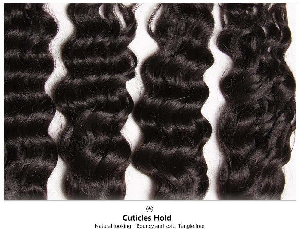 full real hair natural wave