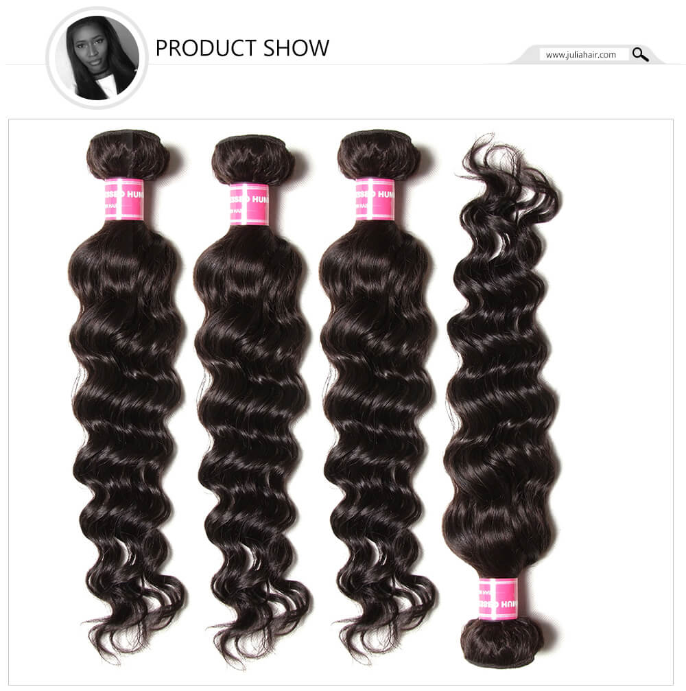 Natural Wave Human Hair Extensions