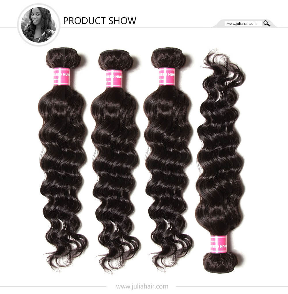 Julia Indian Virgin Hair 3Bundles