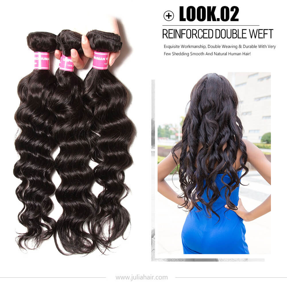 Peruvian water wave weave bundles