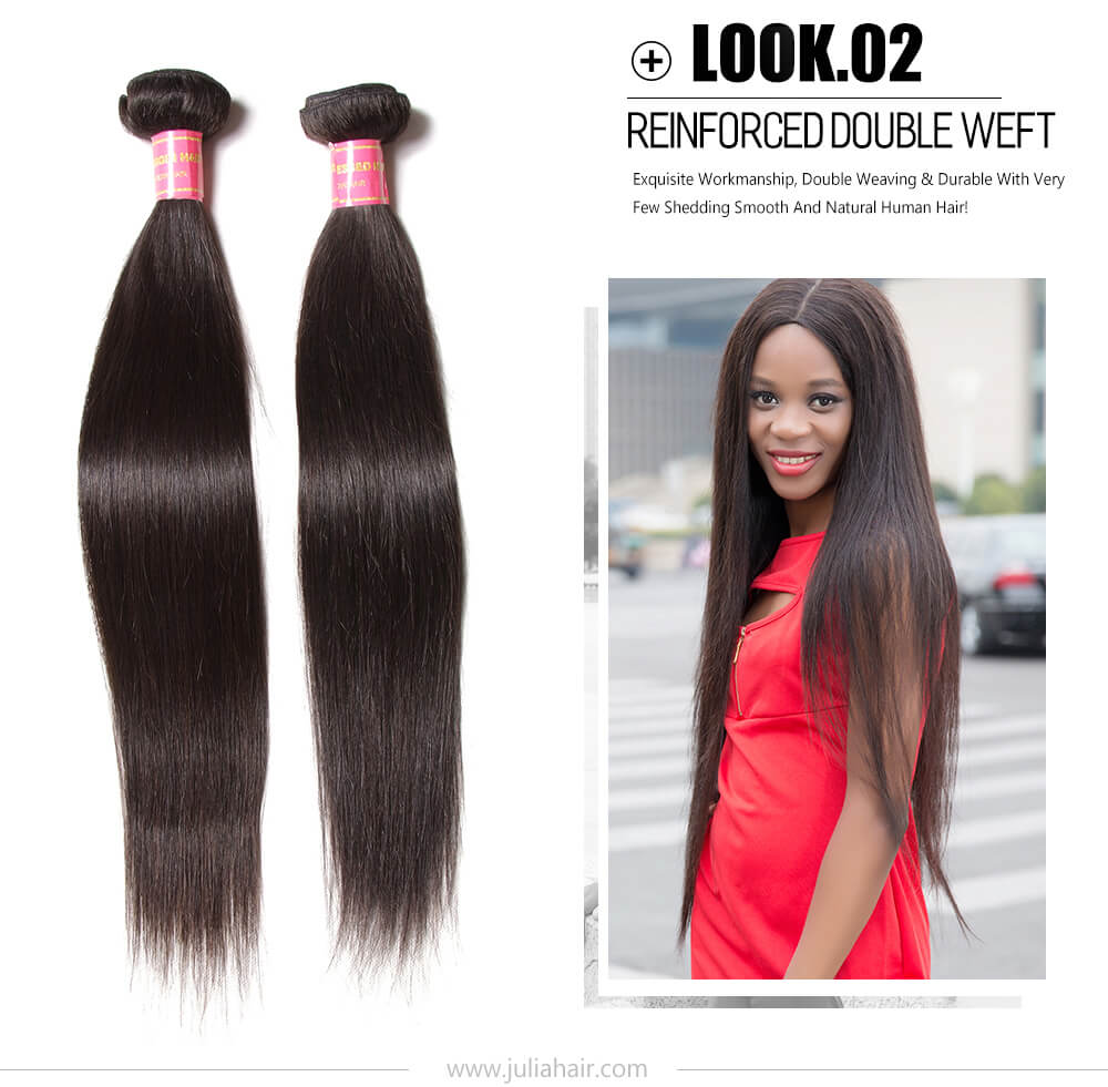 100% virgin human hair weave bundles extensions