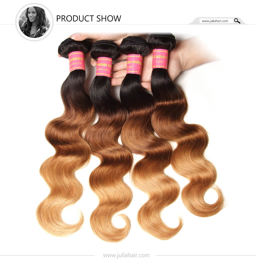 Ombre Body Wave Human Hair