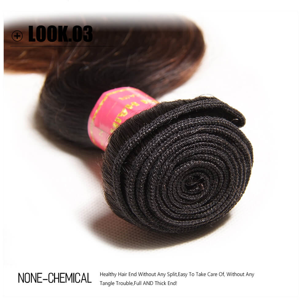 100% Ombre Human Hair Extensions
