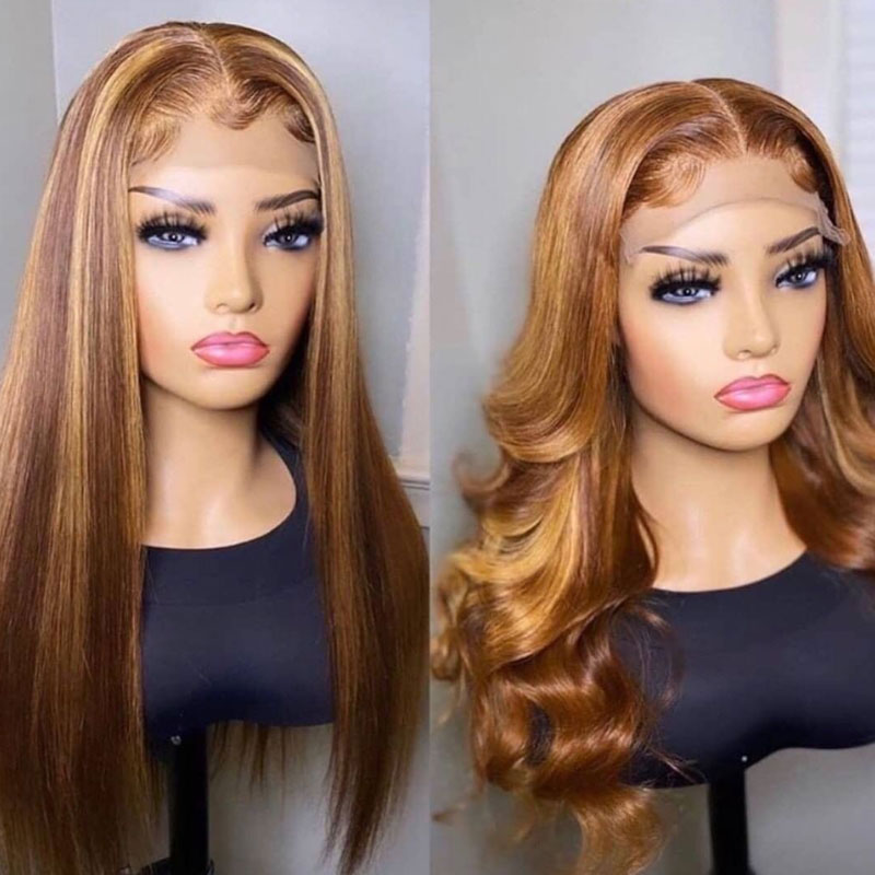 highlight lace wig 4
