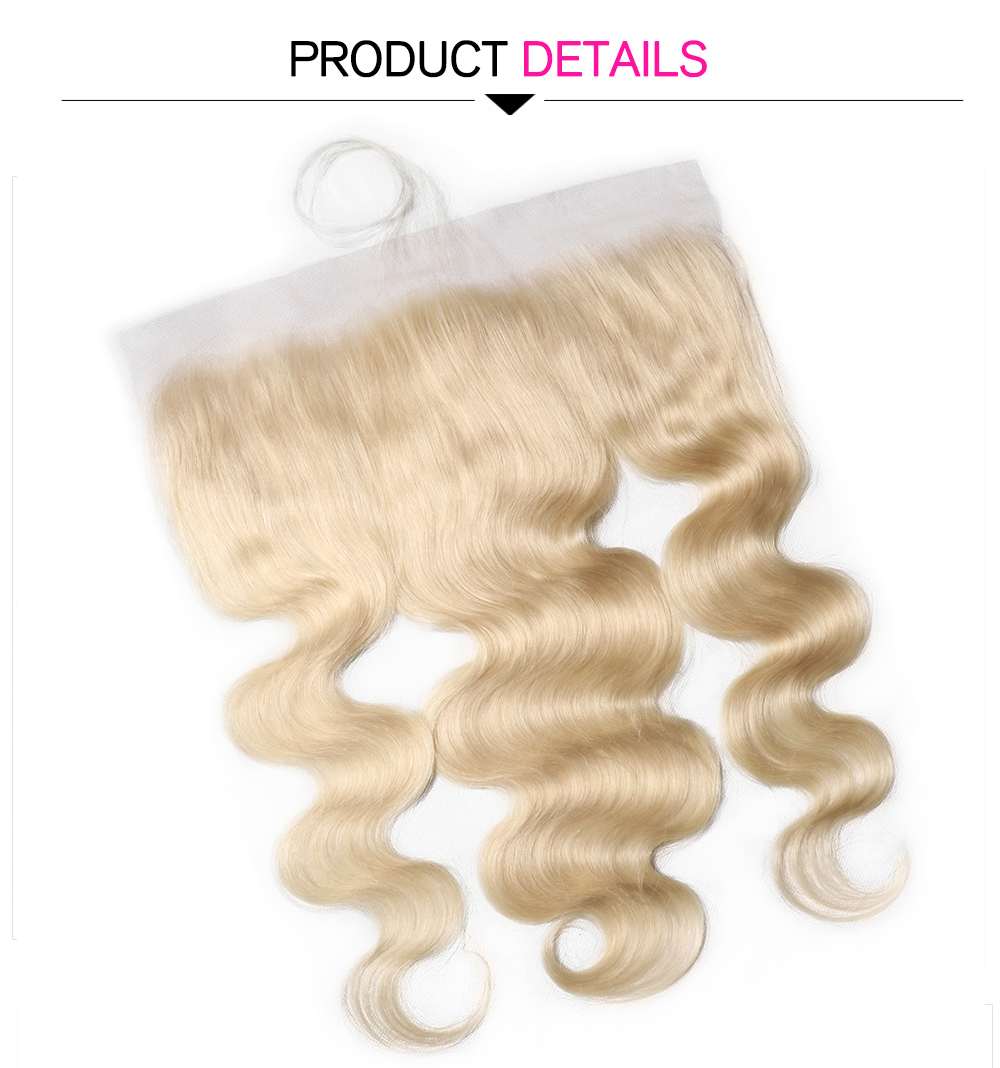 613 Color Body Wave Lace Frontal