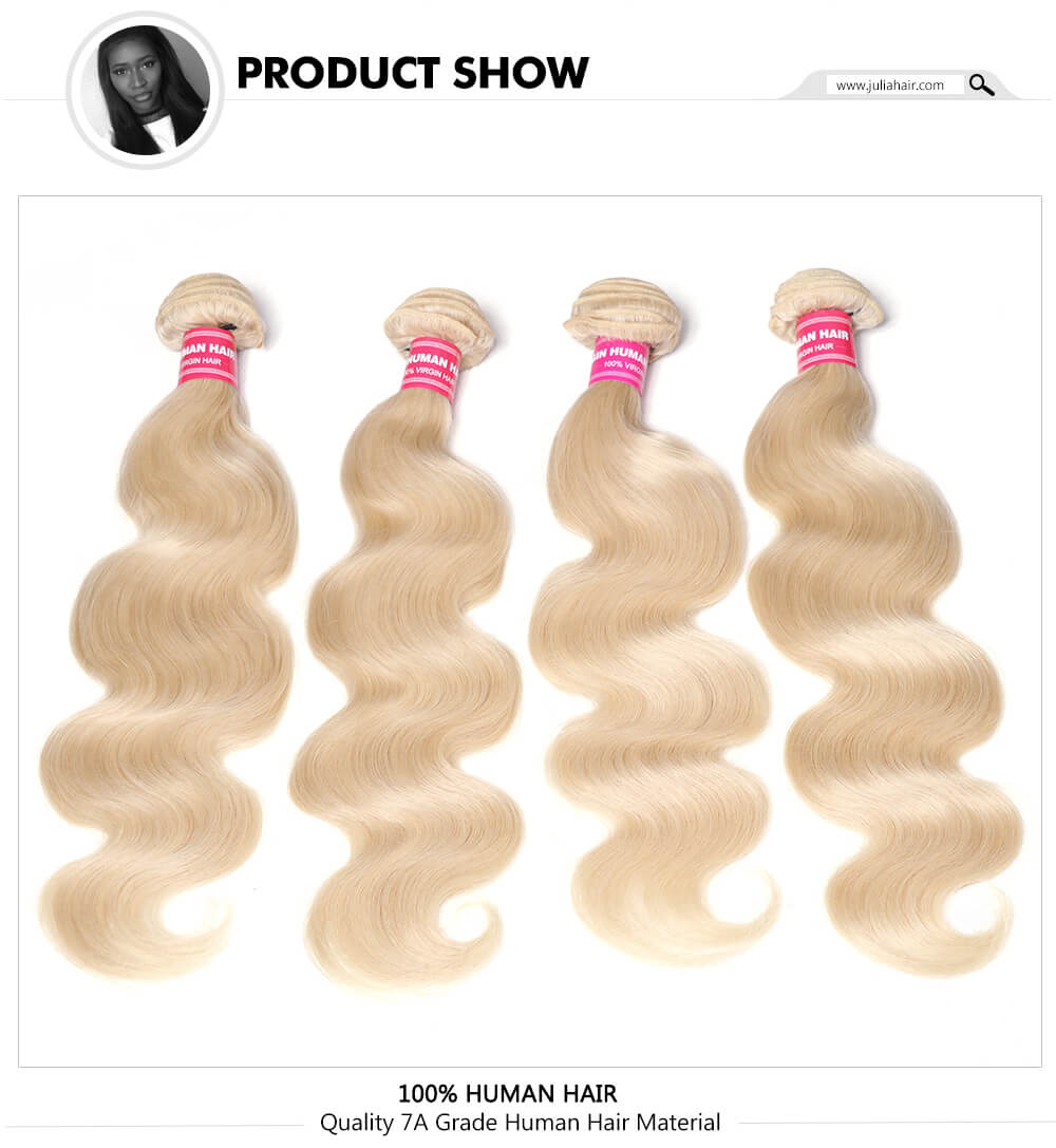 Quality 613 Human Hair Bundles With Closure On Sale