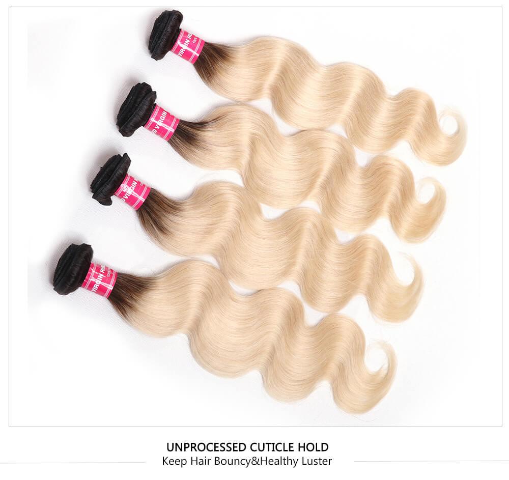 T1B/613 Blond Ombre Bundles
