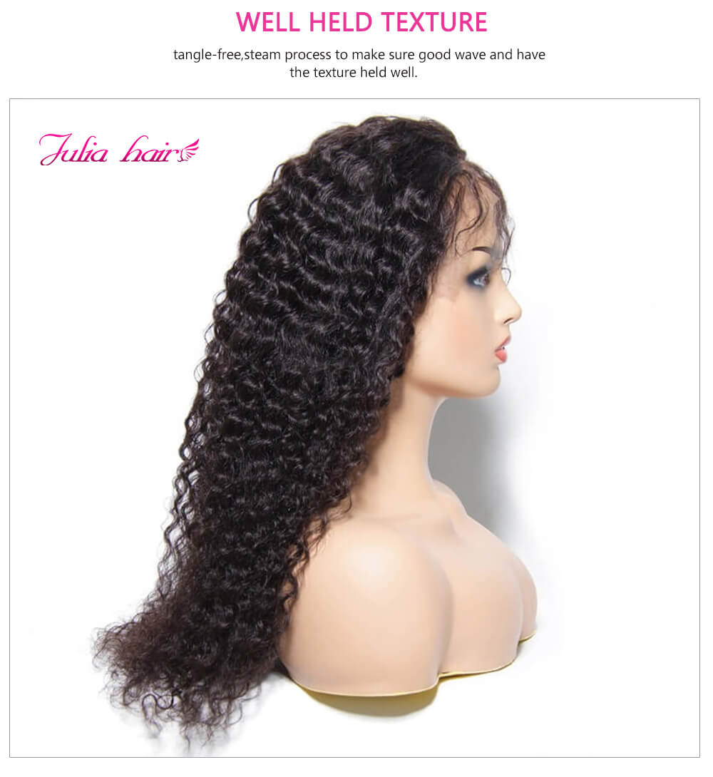 Super Soft Human Hair Curly Wigs